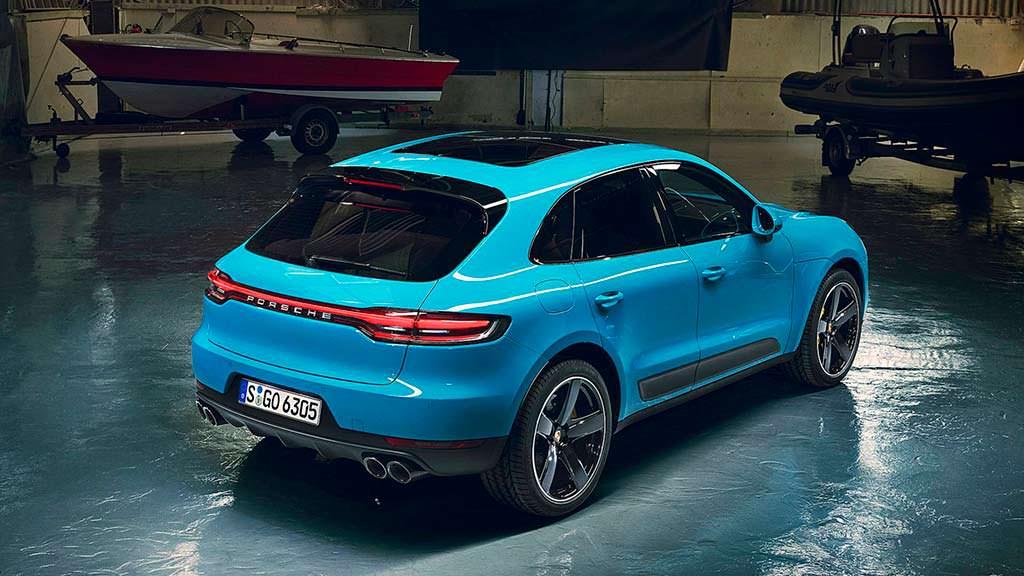 Кроссовер Porsche Macan 2019 года