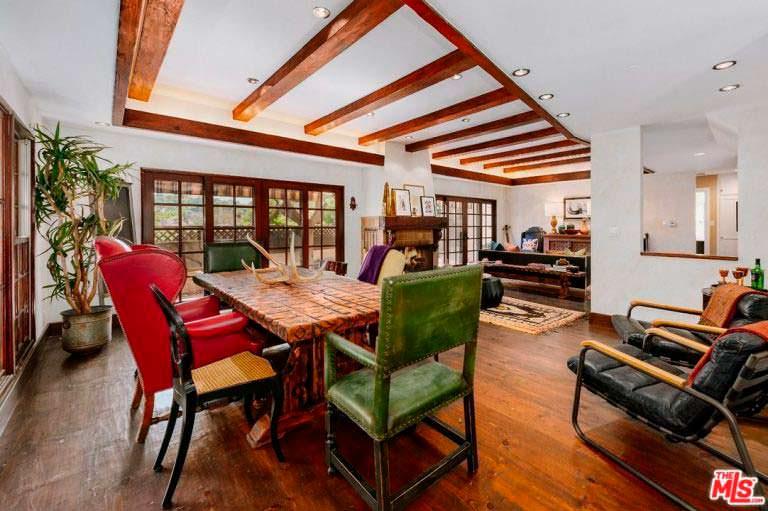 Дизайн гостиной столовой в английском стиле