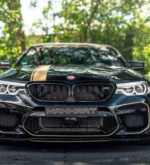 Подготовлен мощный тюнинг BMW M5 от Manhart | фото