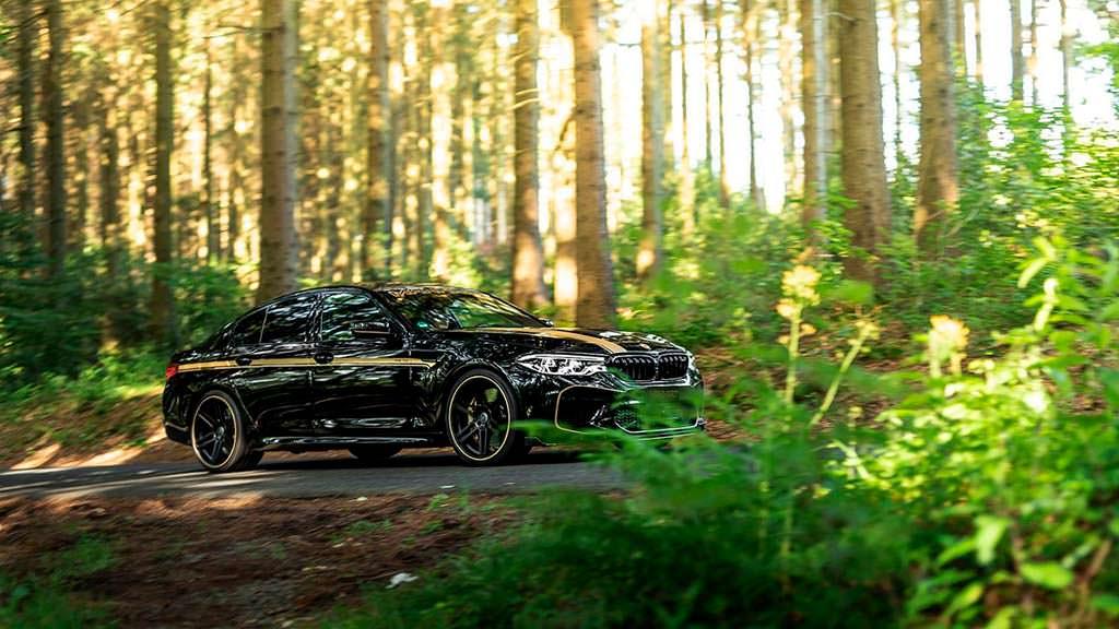 Тюнинг BMW M5 от Manhart