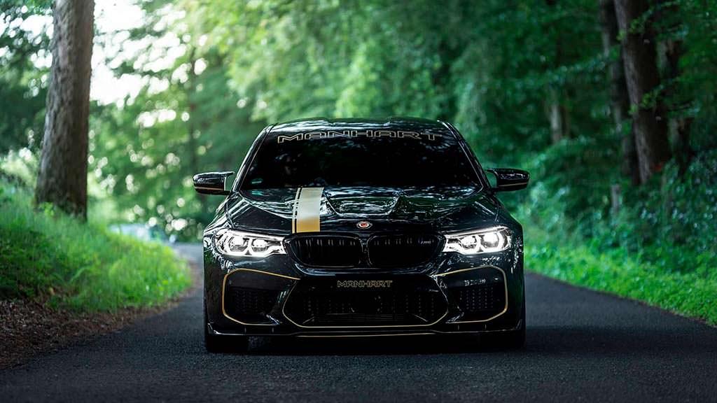 Тюнинг BMW M5 от Manhart. Мощность 713 л.с.