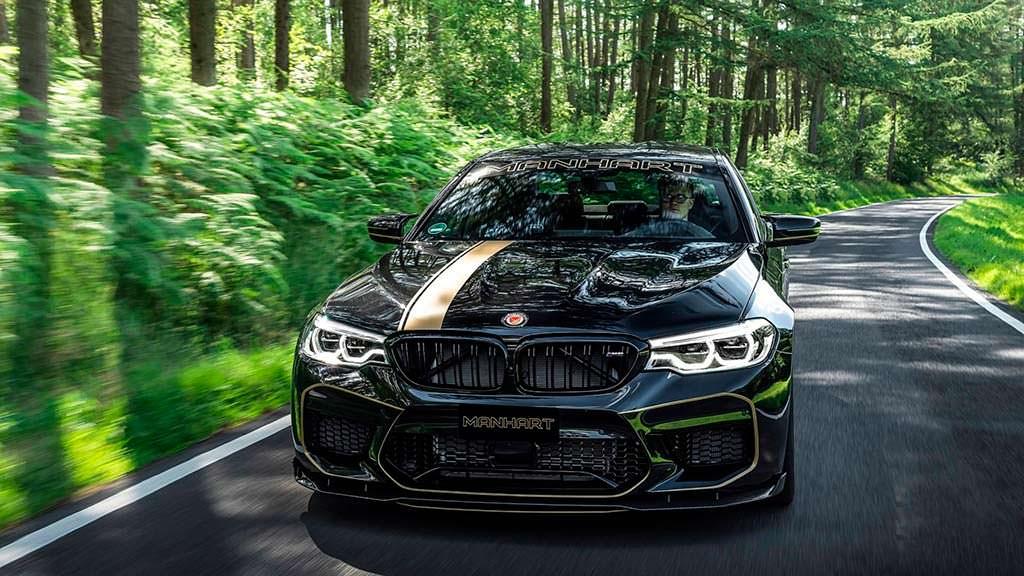 Супер-седан BMW M5. Тюнинг от Manhart