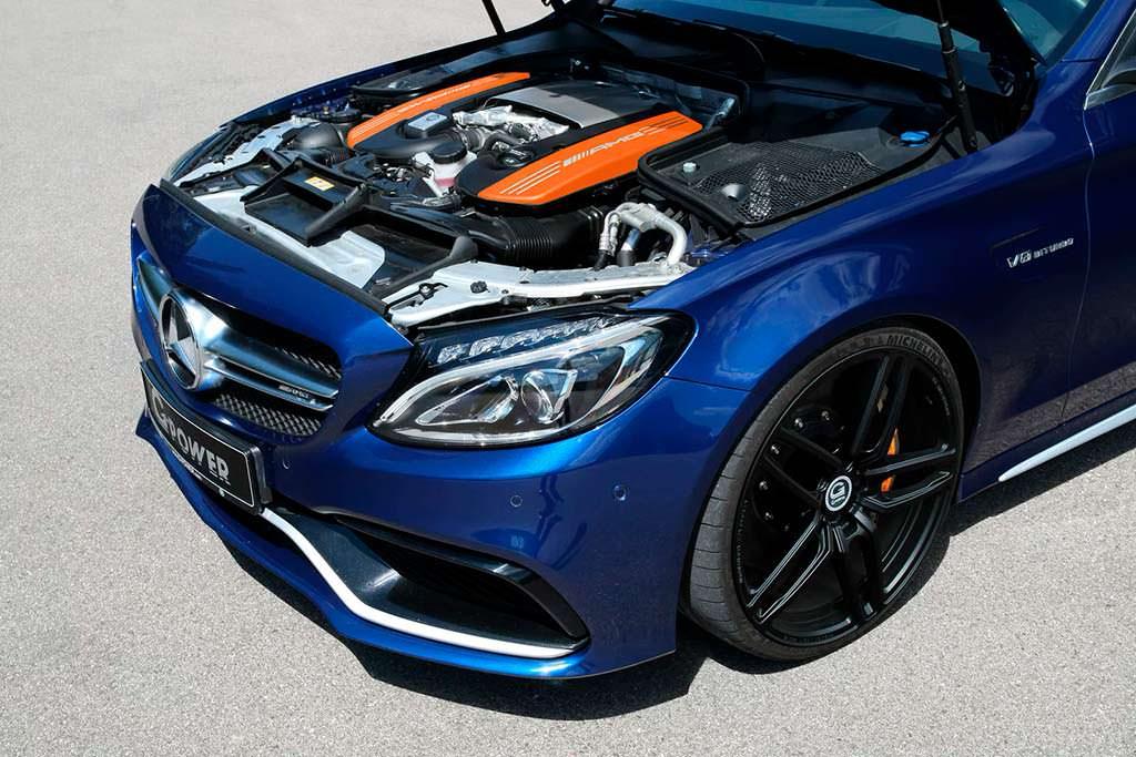 Под капотом Mercedes-AMG C63 S. Тюнинг G-Power