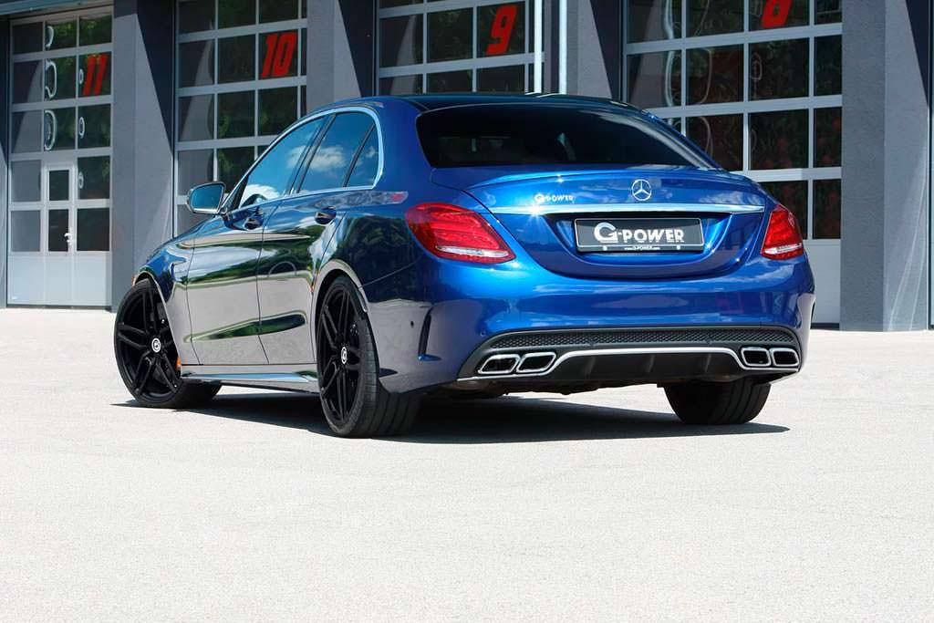 Тюнингованный Mercedes-AMG C63 S от G-Power