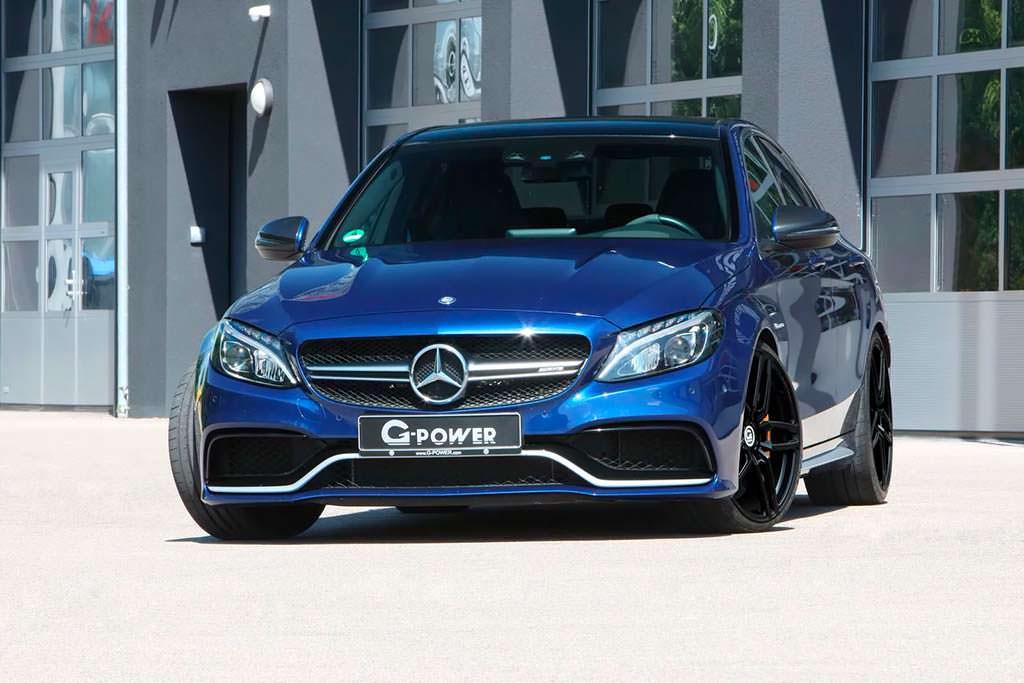 Тюнинг Mercedes-AMG C63 S от G-Power