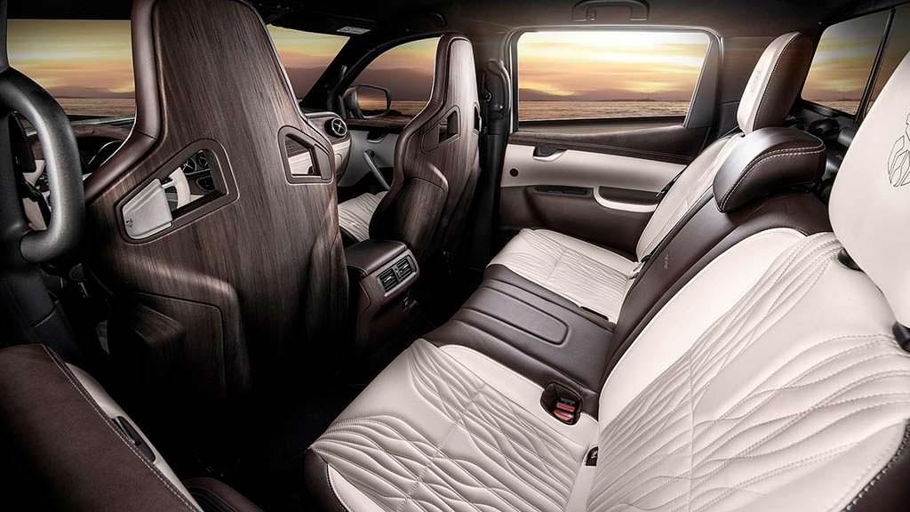 Кожаные сиденья Mercedes X-Class Yachting Edition от Carlex