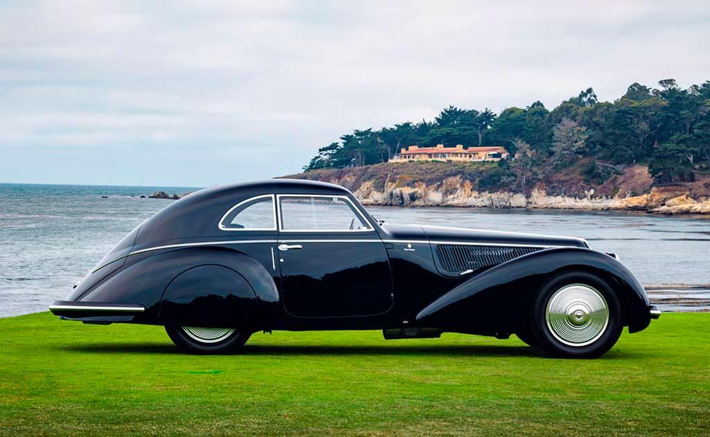 Alfa Romeo 8C 2900B Touring Berlinetta 1937 года выпуска