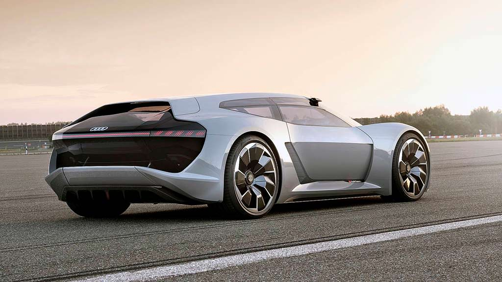 Электро-суперкар Audi PB18 E-Tron Concept