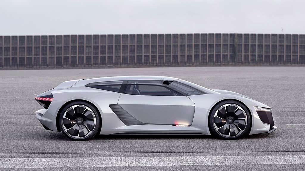 Суперкар Audi PB18 E-Tron. Разгон с 0 до 100 км/ч за 2,0-секунды