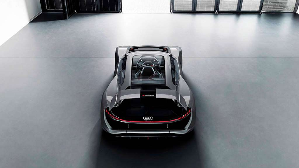 Новый суперкар Audi PB18 E-Tron Concept