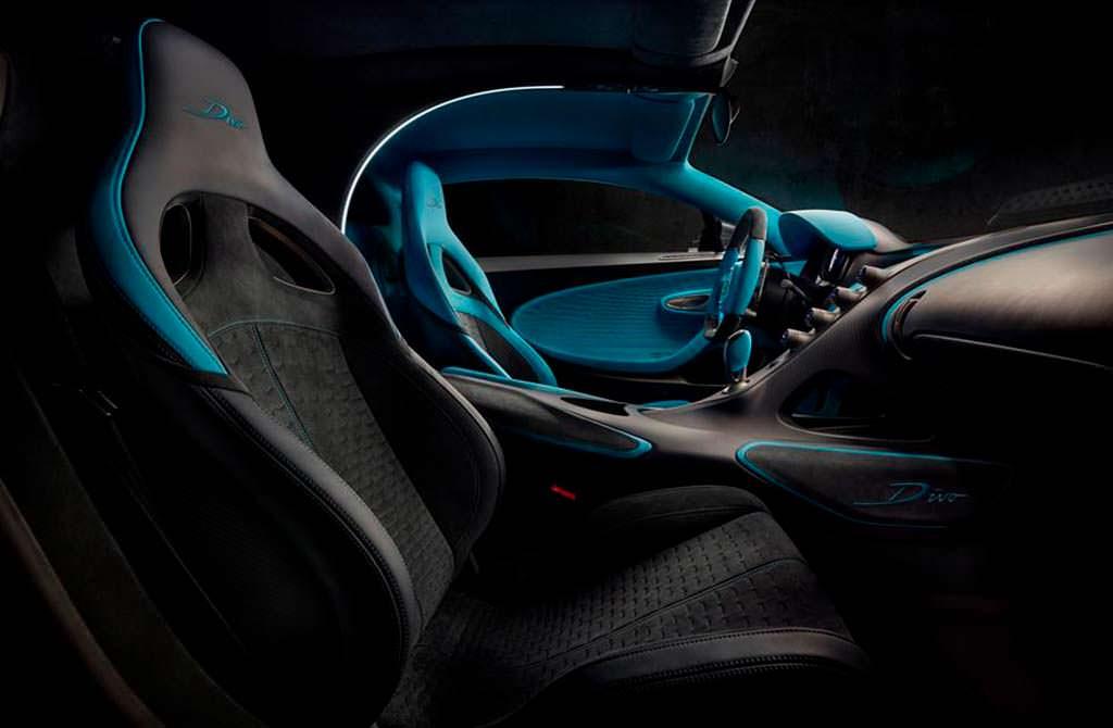 Фото внутри Bugatti Divo