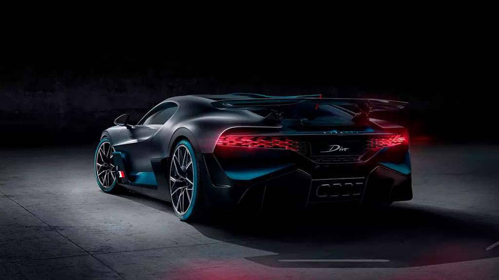 Новый Bugatti Divo