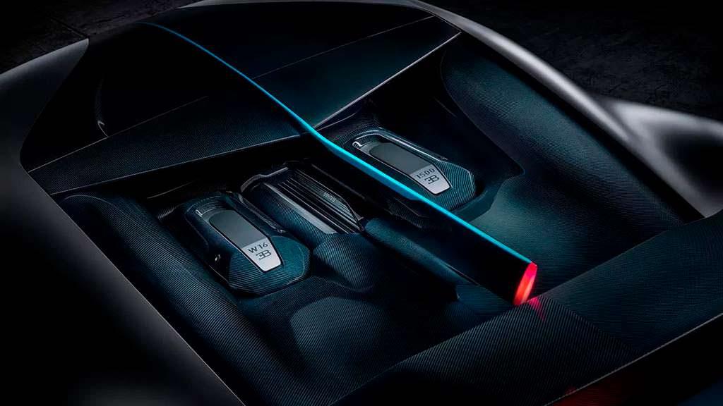 Двигатель Bugatti Divo W16. Мощность 1 500 л.с.