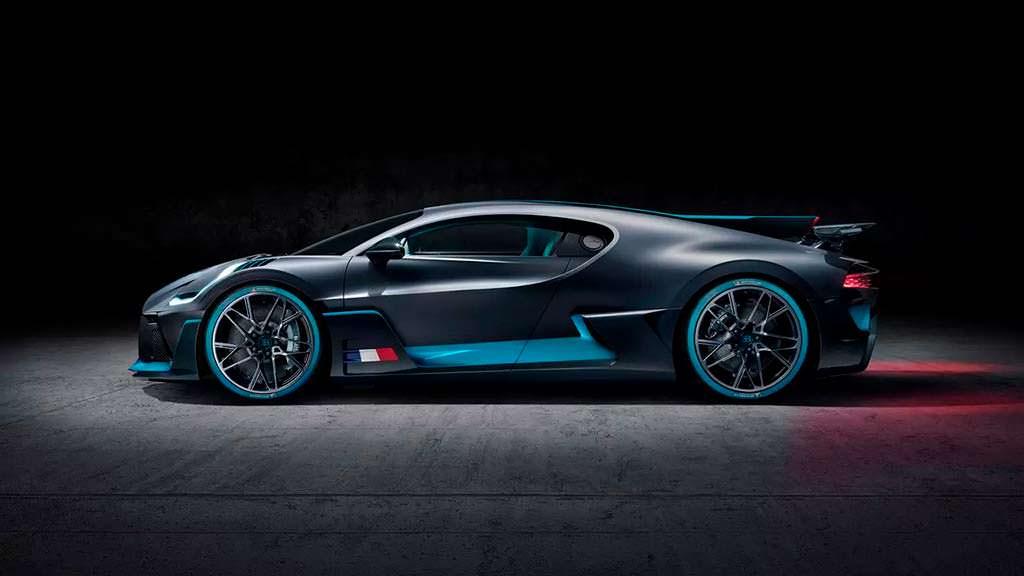 Экзотическая Bugatti Divo. Выпустят 40 экземпляров