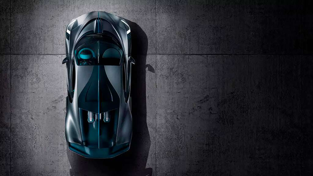 Ограниченный суперкар Bugatti Divo