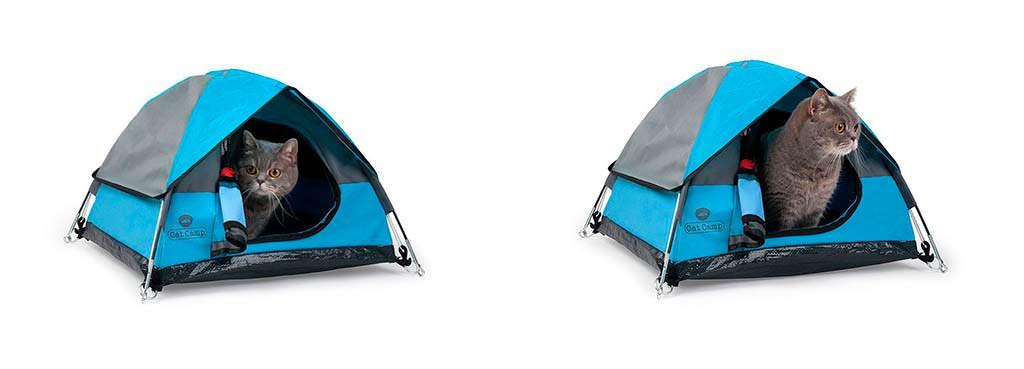 Мини-палатка для кошек Cat Campo