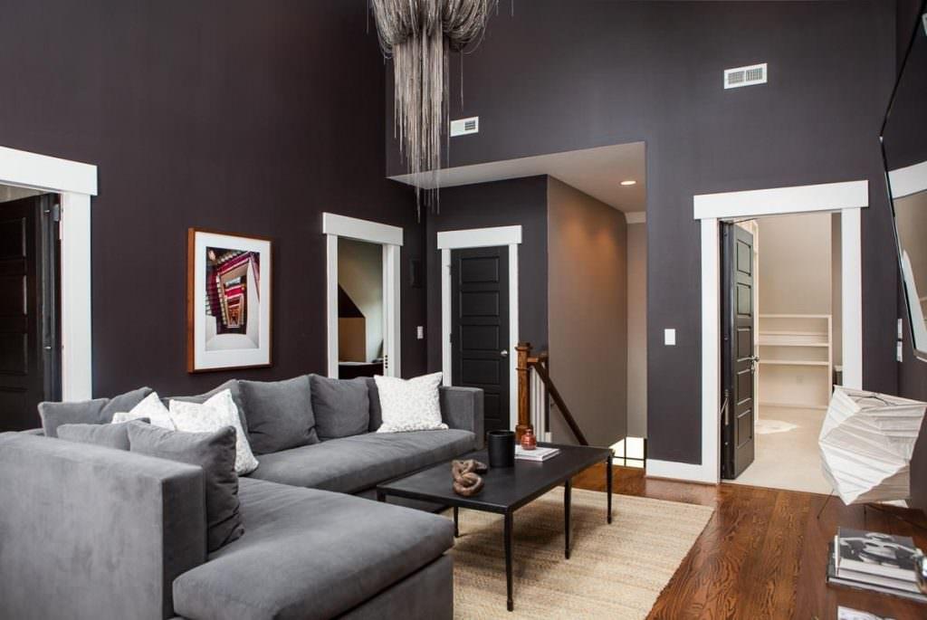 Угловой диван в дизайне интерьера