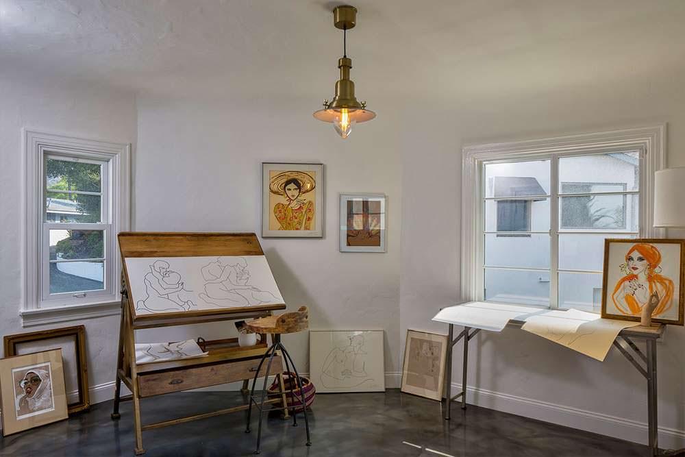 Домашняя художественная студия