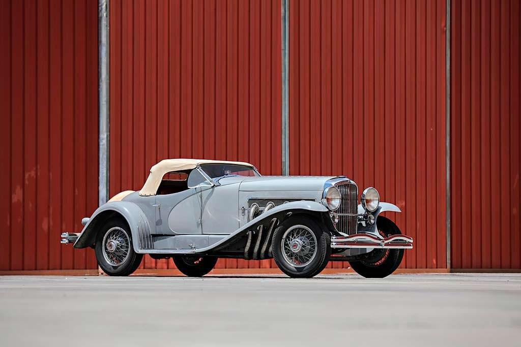 Классический родстер Duesenberg SSJ 1935 года выпуска
