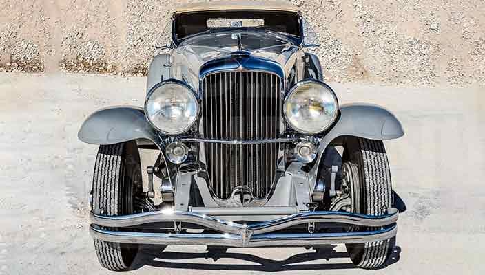 Duesenberg SSJ 1935 г. - самый дорогой американский автомобиль