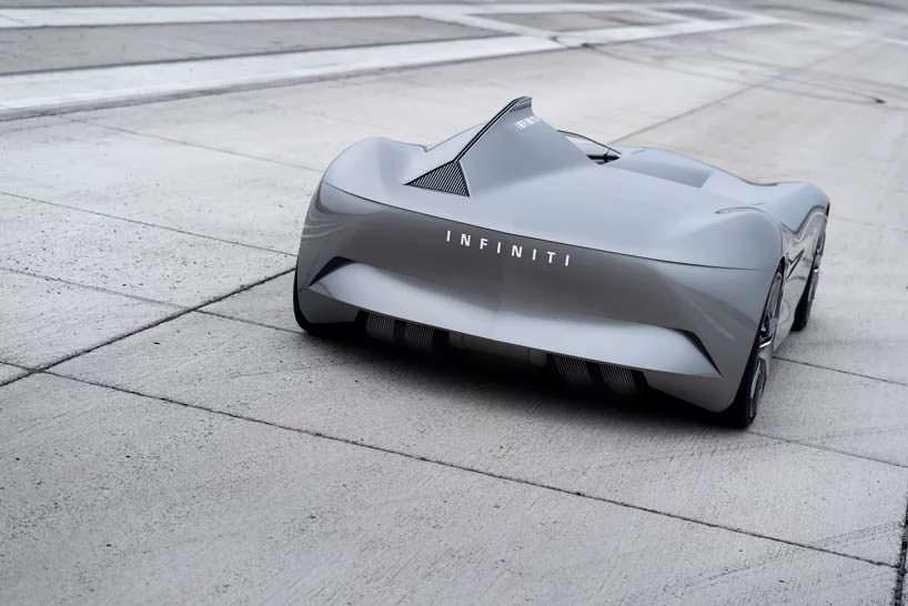 Электрический ретро-родстер Infiniti Prototype 10
