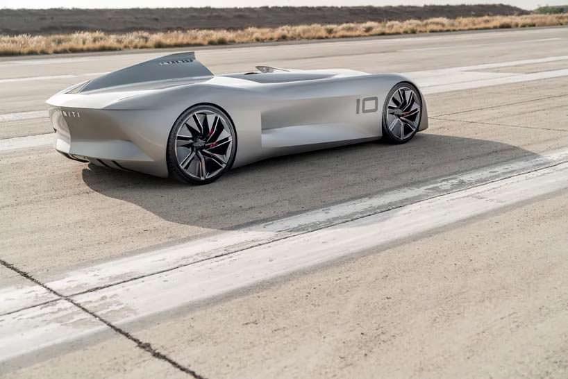 Ретро-электромобиль Infiniti Prototype 10