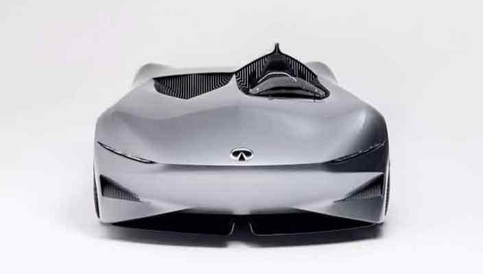 Электрический ретро-родстер Infiniti Prototype 10 | фото