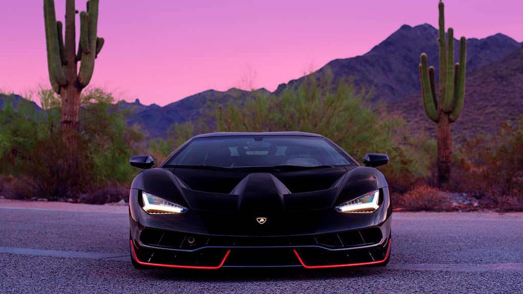 Lamborghini Centenario Nero Alderbaran