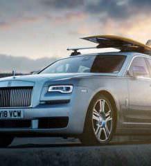 Rolls-Royce Ghost с подготовкой для серфера от Woodpop | фото