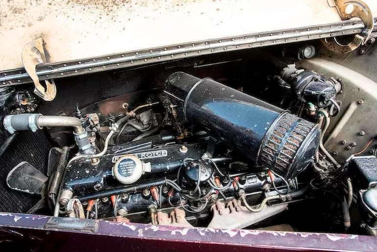 Двигатель Rolls-Royce Phantom IV State Landaulette 1953 года