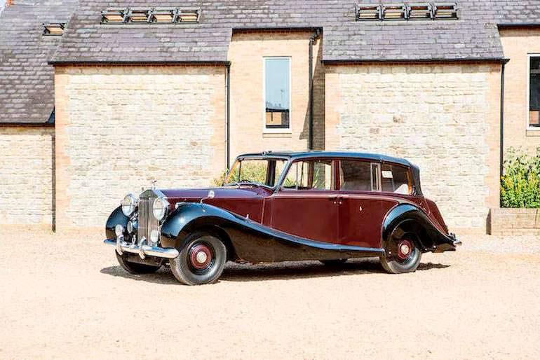 Королевский Rolls-Royce Phantom IV State Landaulette