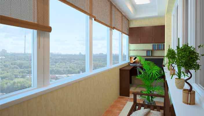 Современное остекление балконов и лоджий от «Окна-Gold»