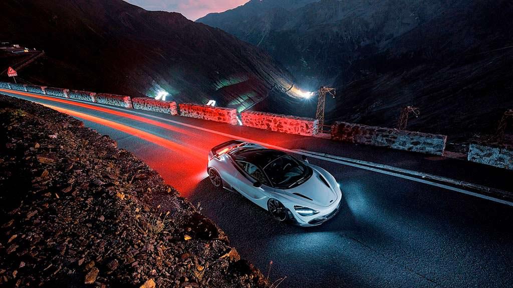 Суперкар McLaren 720S. Тюнинг от Novitec