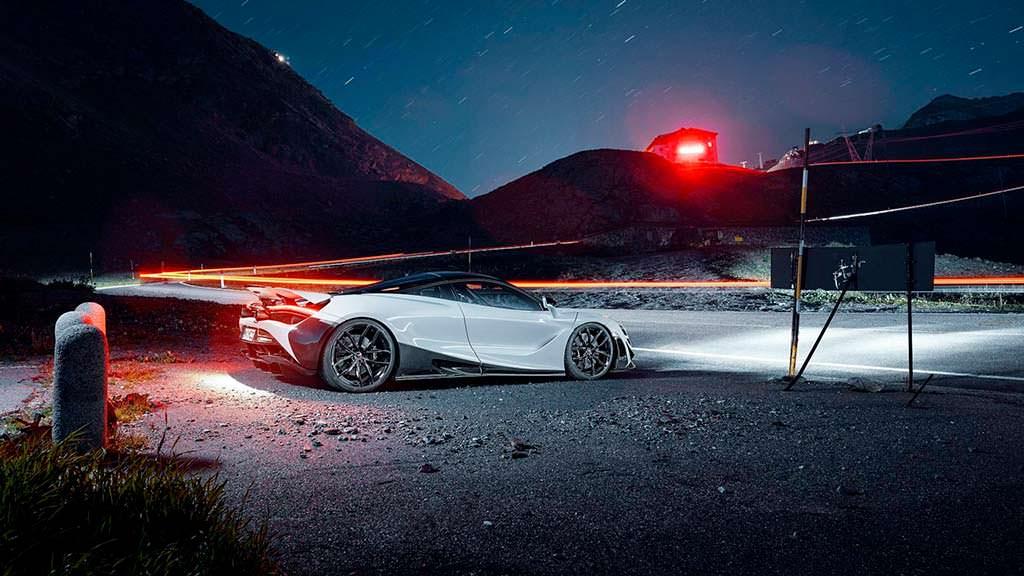 Тюнингованный McLaren 720S от Novitec