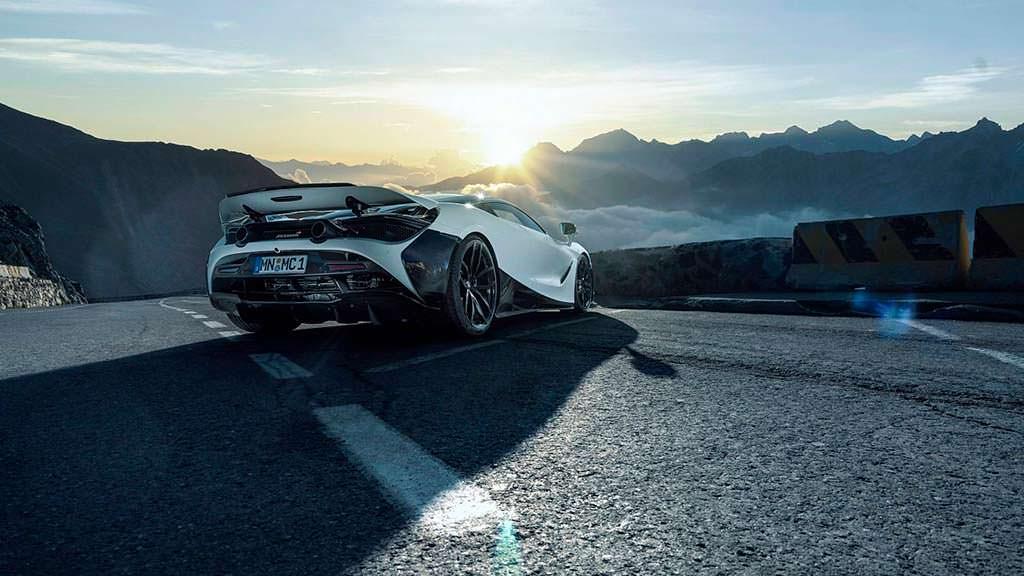 Тюнинг McLaren 720S от Novitec. Новые 20- 21-дюймовые колеса