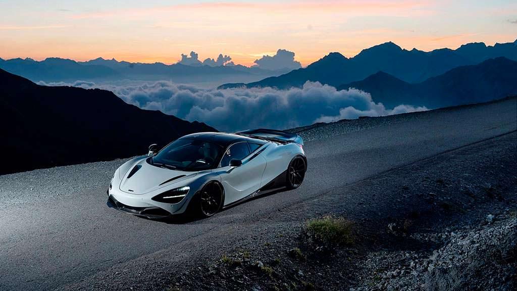 McLaren 720S. Тюнинг от Novitec