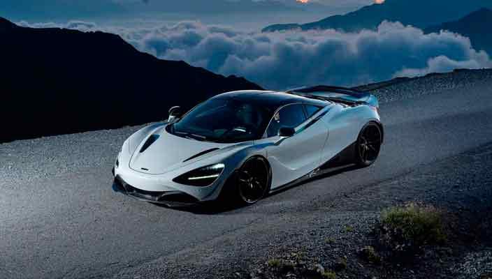 Тюнинг суперкара McLaren 720S от Novitec | фото