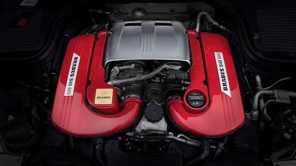Тюнингованный двигатель Mercedes-AMG GLC 63 S от Brabus
