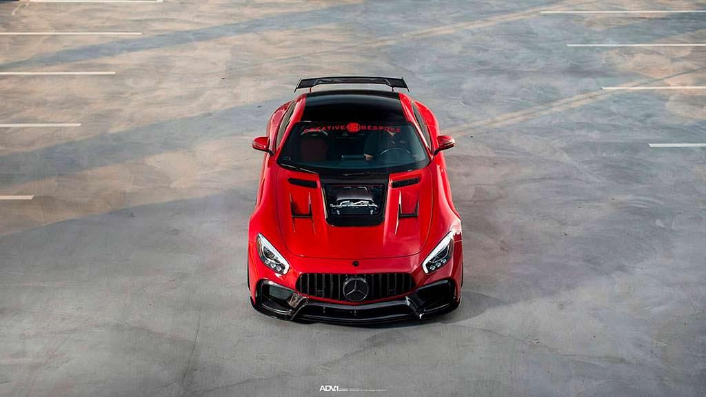 Тюнинг Mercedes-AMG GT S от Creative Bespoke
