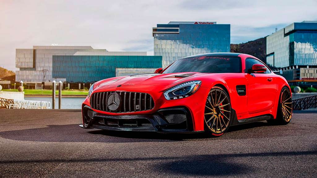 Суперкар Mercedes-AMG GT S в тюнинге от Creative Bespoke