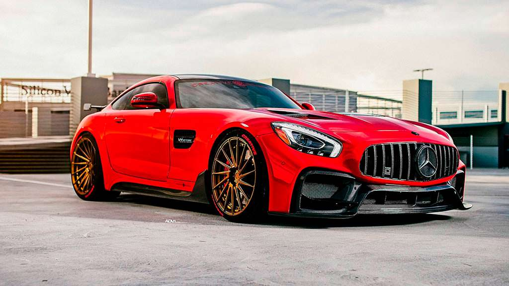 Комплексный тюнинг Mercedes-AMG GT S от Creative Bespoke