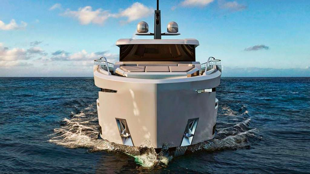Прогулочная яхта Ocean King Ducale 88 длиной 26,8-метра