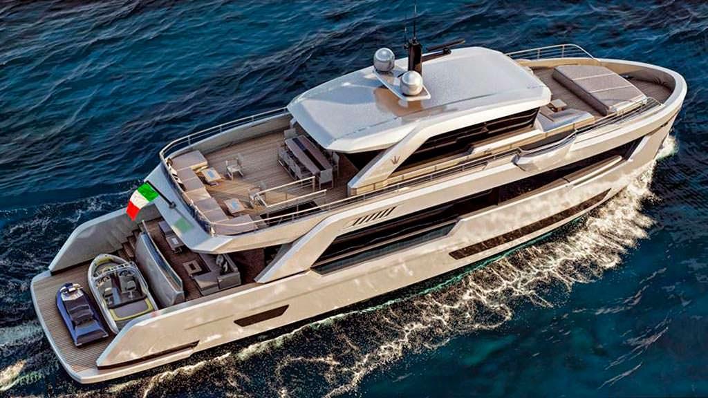 Прогулочная яхта Ocean King Ducale 88 на 10 гостей