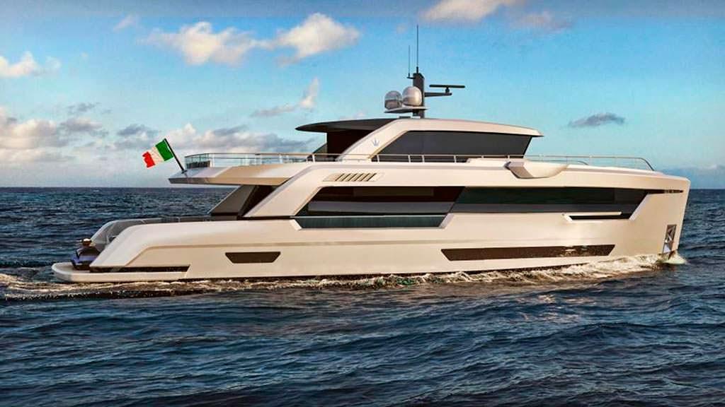 Прогулочная яхта Ocean King Ducale 88 с двигателями MAN D2868 LE421