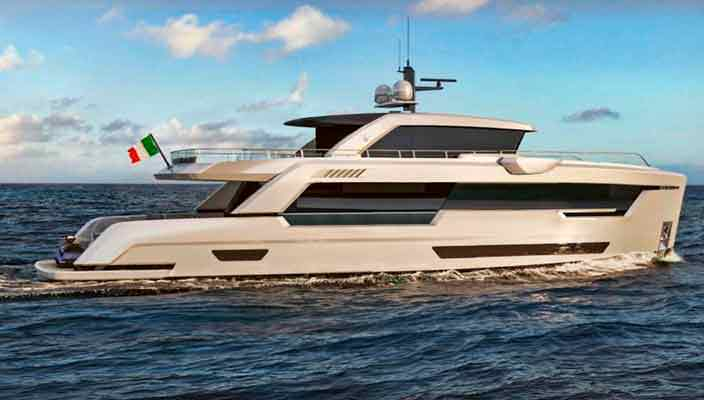 Представлена яхта Ocean King Ducale 88 длиной 26,8-м | фото