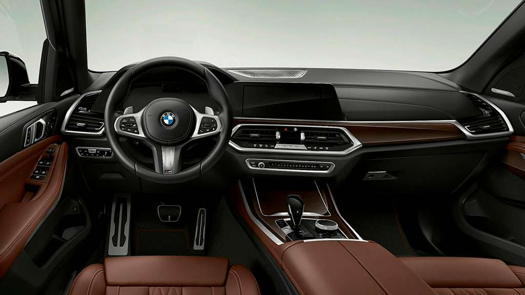 Фото салона BMW X5 xDrive45e