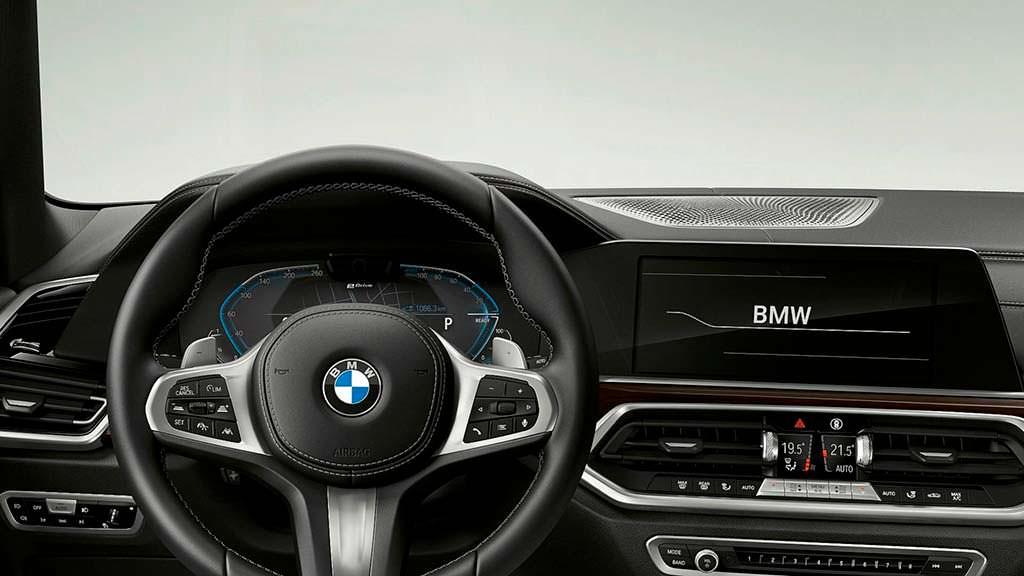 Фото внутри BMW X5 xDrive45e