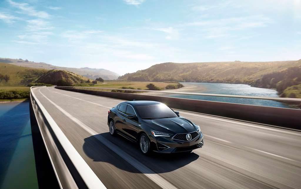 Черная Acura ILX 2019 года