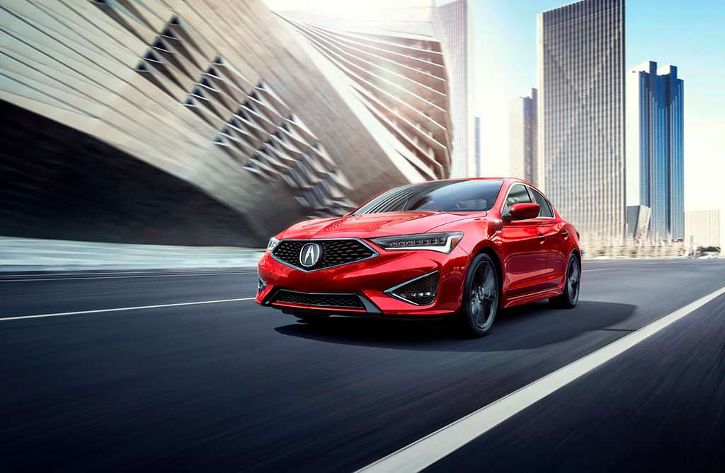 Премиальный седан Acura ILX 2019 года