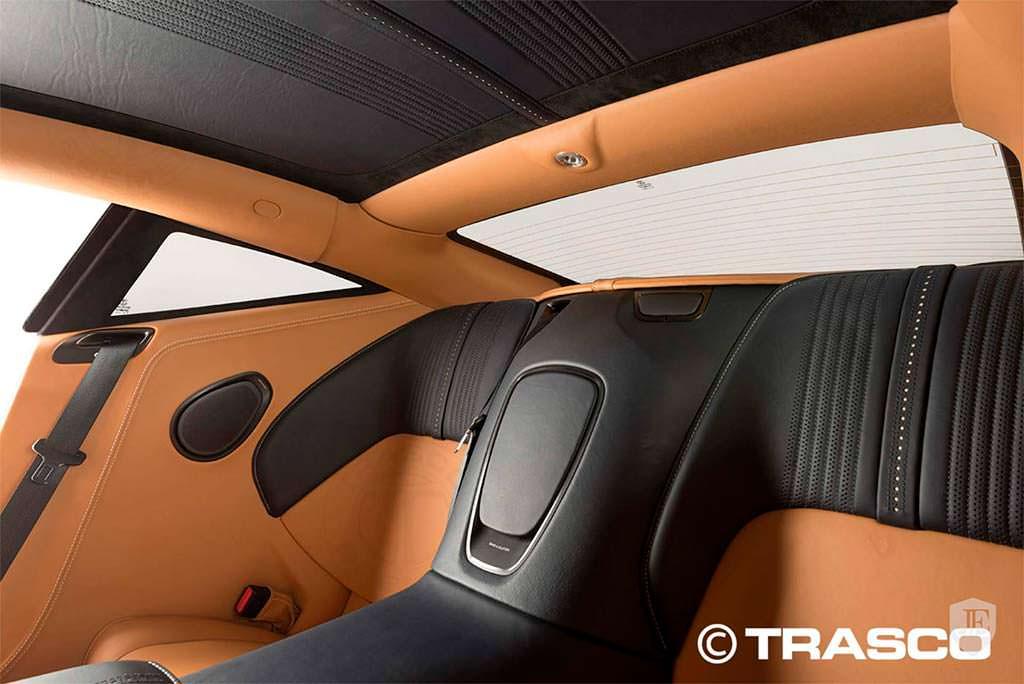 Фото внутри бронированного Aston Martin DB11 от Trasco